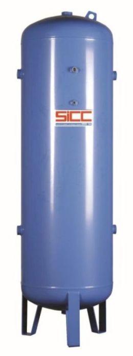 Dodáváme tlakové nádoby – vzdušníky ve standardním vertikálním provedení na tlak 10,8 - 11 bar a 16 ...