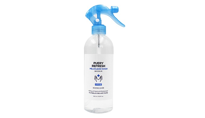 Puery Melaclean Wash Spray 500ml  i  Antiseptic