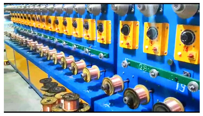 Wire Offline Annealing Machine SWG - 12 To 40 MM Size - 2.642 To 0.1219