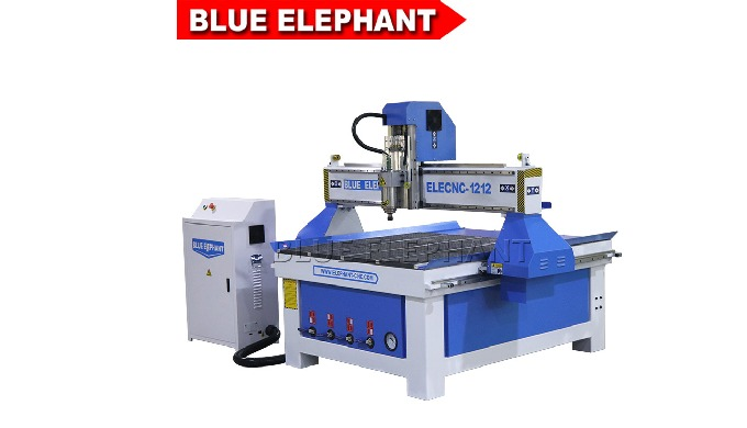 Синий слон 1212 станки объявления маршрутизатора CNC для рекламировать знаки делая