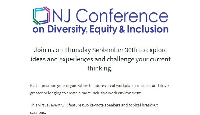 NJ Conference on Diversity, Equity & Inclusion