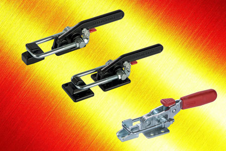 The new Elesa range of latch clamps with safety release trigger offer easy installation and robust o...