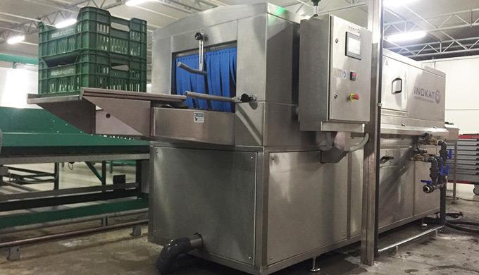 Washing machinery, food industry