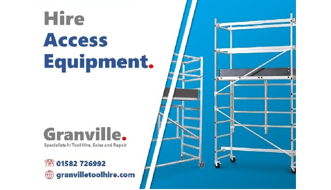 At Granville we provide help and advice on an extensive range of access equipment. We hire a selecti...