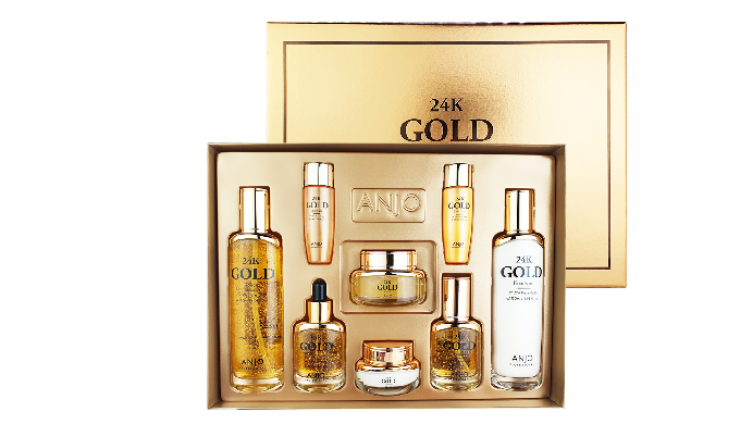 ANJO 24K GOLD SKIN-CARE 6SET / suji korea