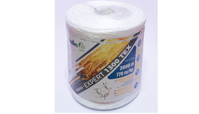 Twine for agricultural machines , Pp twine