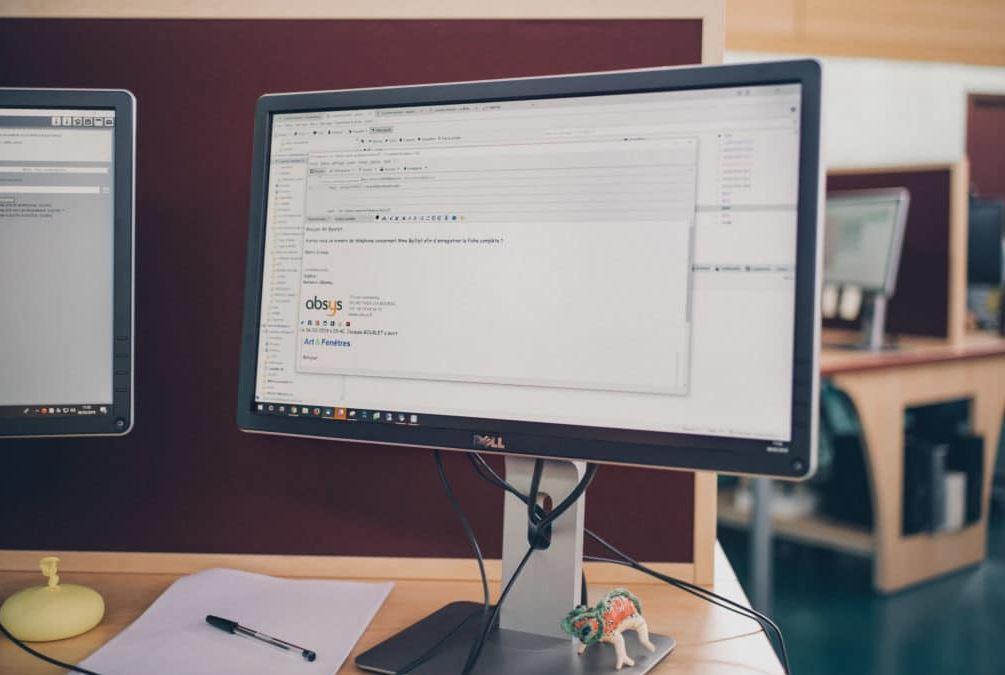 Avec la solution Gestion Mails Absys, nous vous proposons des traitements de mail dont la prise de m...