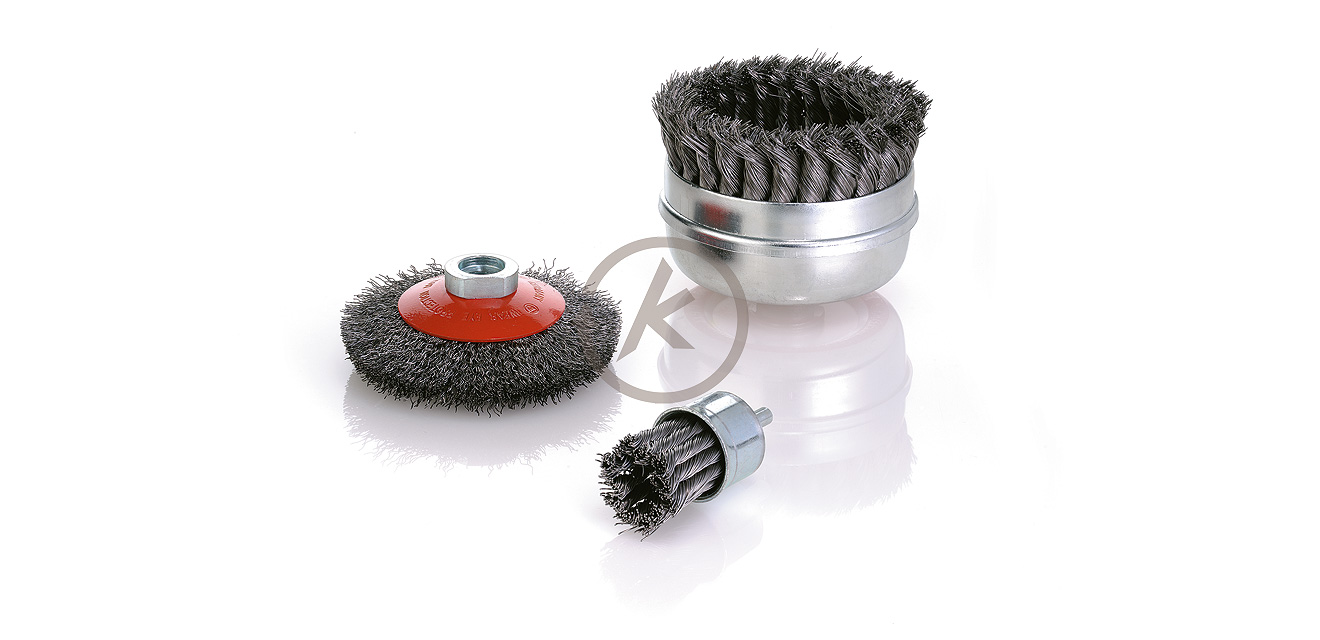 End, Cup and Bevel Brushes