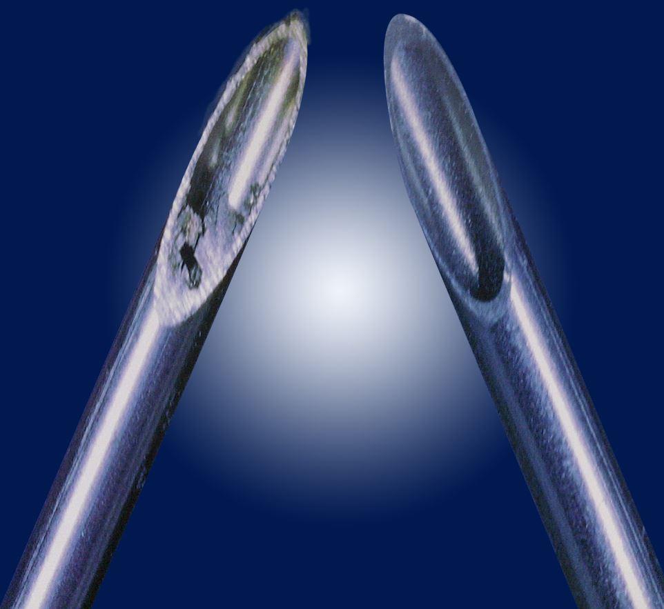 Coupe de tubes à disque abrasif par procédé électronique