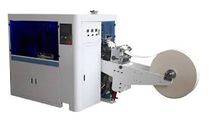 Model PL-145 Automatic paper lid machine cover machine is the ideal equipment for the production of ...