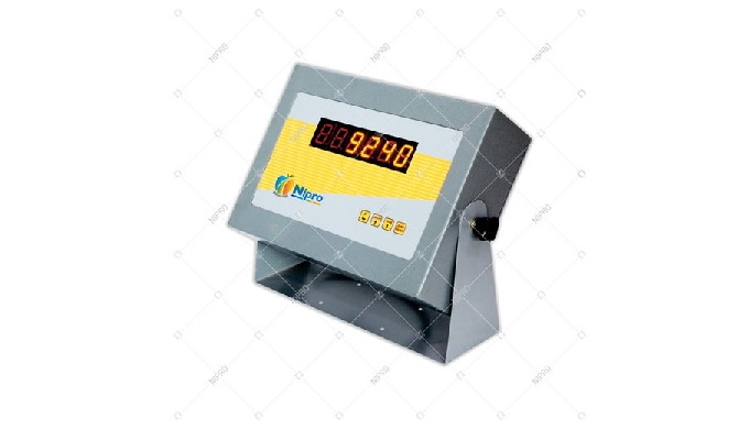 Load Cell Excitation: 15V Display Type: Digital Material: SS Brand: Nipro Power Supply: DC 20 V Disp...