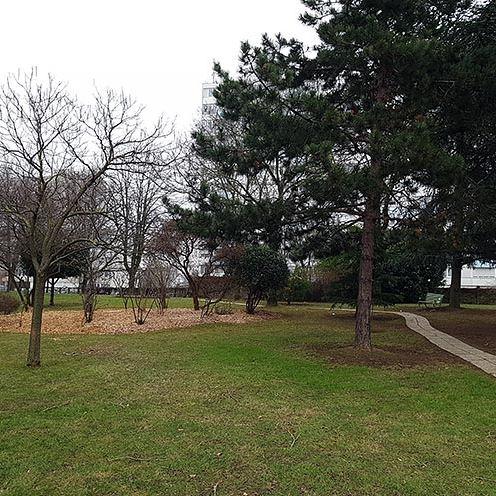 Entretien des espaces verts de la résidence