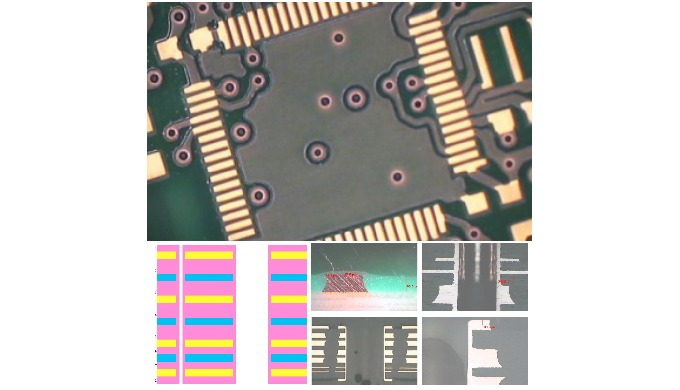 Multilayer Ml8–Logic and power on same pcb with fine pitch