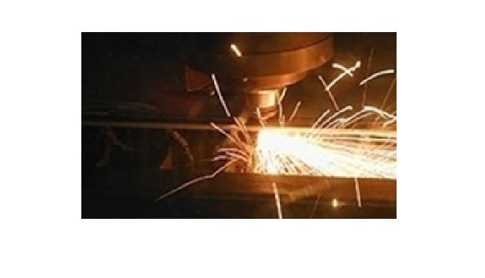 Rustek,  Laserskæring