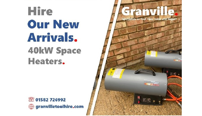 We're excited to add these small yet mighty space heaters to our heating hire options. They are the ...