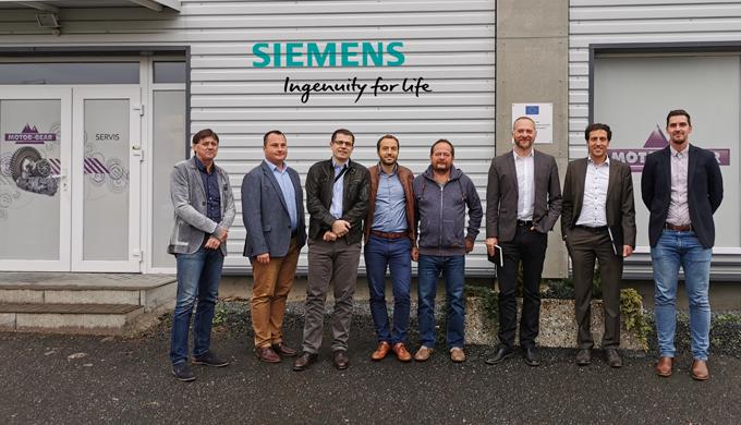 International meeting with company Siemens