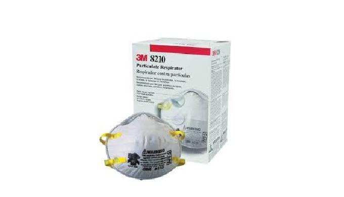 NIOSH approved N95 rating Adjustable nose ring Nose foam Braided headbands Staple free headband atta...