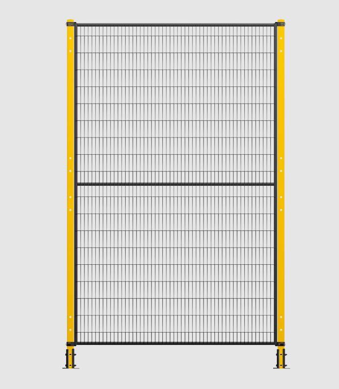 Grille de protection pour machine industrielle Série BASIC
