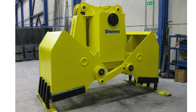 ELECTRO-HYDRAULIC CLAMSHELL GRABS, TYPE 2CH AND 4CH - 2.8, FOR STONES,...