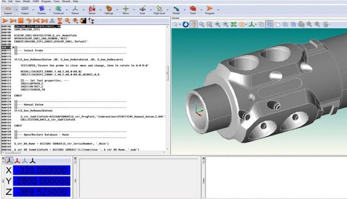 ABT's subcontract Cordinate Measuring Machine (CMM) programming services combines expert knowledge a...