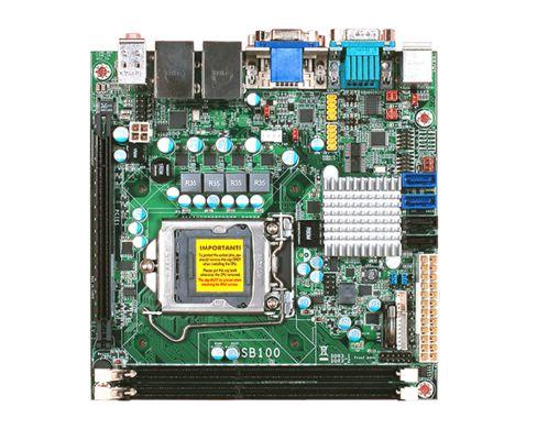 SB100-NRM | 3rd/2nd Gen Intel Core | Mini-ITX | DFI