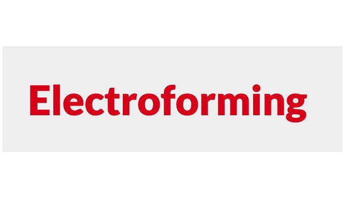 ELEKTROFORMING