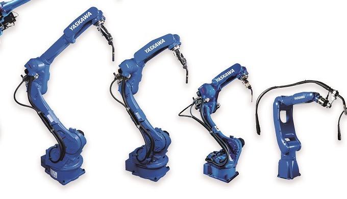 Gama AR de robots de soldadura