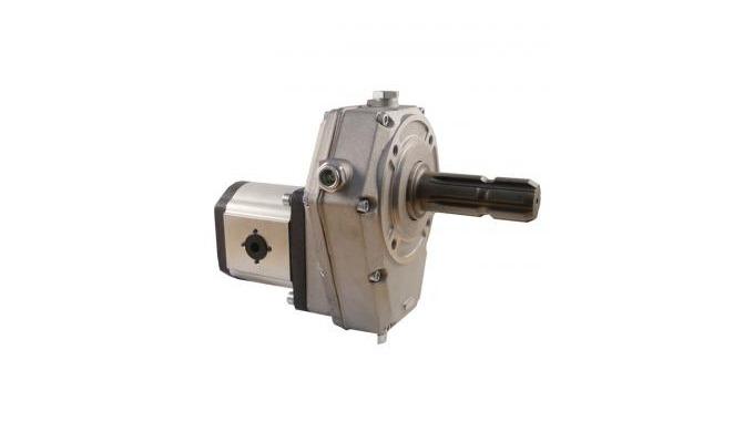 Pompa hidraulica despicator pe priza de putere. Pompa hidraulica actionata de la priza de putere a t...