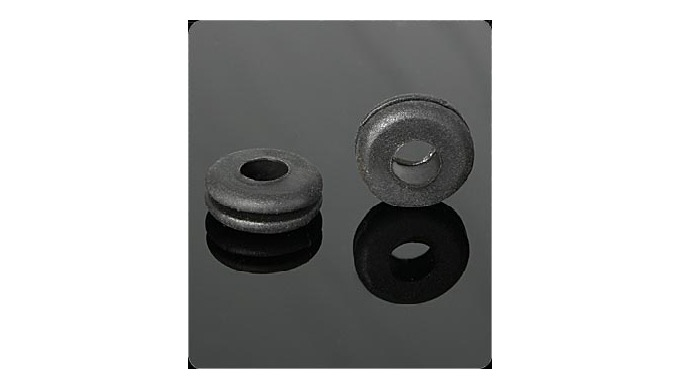 Grommets are part of our standard pieces. They are available in different sizes and colors.