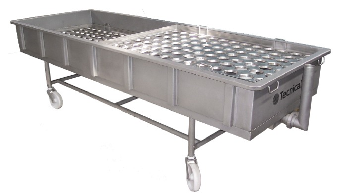 Mould filling tables