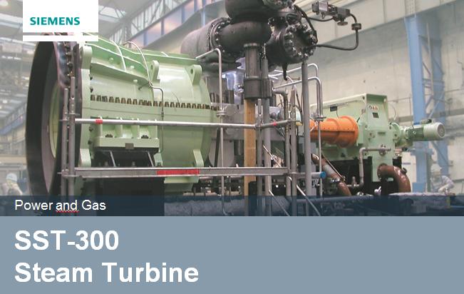 Parní turbíny SST-300