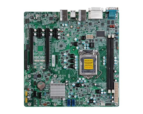 SB331-D | 3rd/2nd Gen Intel Core | micro-ATX | DFI