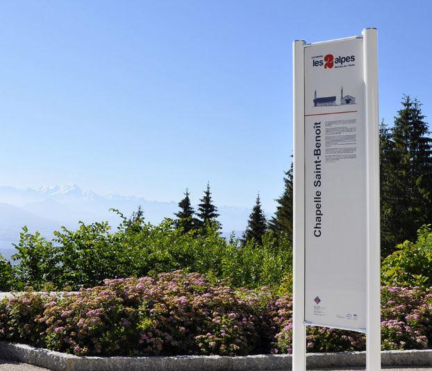 Signaux Girod, opérateur global de la signalisation, vous présente le signalétique Point Information...