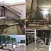 LES ESCALIERS : Cliquez ici pour voir des photosEscaliers en acier (peint ou galvanisé), inox ou alu...