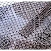Welded metal net and cloth