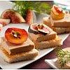 Un cocktail subtil et festif pour vos réceptions de Nouvel AnDégustation de foie gras, brochettes de...