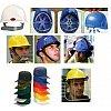 Casque de sécurité modulable, économique, confort, forestier, jugulaire, attaches auditives pour cas...