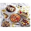Un assortiment de spécialités de Fêtes à croquer Entrées subtiles, salades variées, plats de fêtes, ...