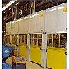 Aux normes européennes CE,les fenêtres de sécurité servent à la protection du personnel travaillant ...