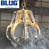Electro-hydraulic orange peel grabs for scrap handling Blug