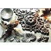Pointes, volutes, barres torsadées, palmettes....un choix incroyable pour créer le portail ou la clô...