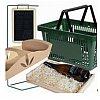 Paniers, caisses, corbeilles et accessoires de vente