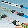 Miniaturní elektrické konektory pro desky plošných spojů, konektory pro LED aplikace